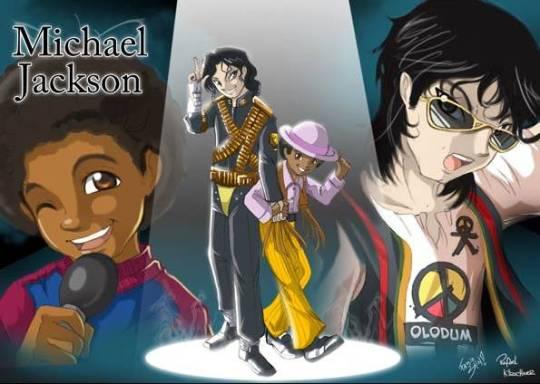 O brasileiro Fabio Shin divulgou nesta quarta (12) novas ilustrações de Michael Jackson em mangá que serão publicadas em um livro no próximo ano. (Foto: Fábio Shin)