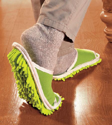 Agora você pode limpar o seu chão de poeira, basta caminhar por eles