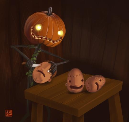 nocturnal-devildeviantartcom-art-pumpkin-carving-102039099